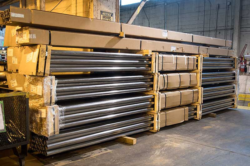 Prime inventory from North American mills to bend on severe radius