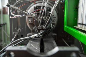 Diesel engine test cell bench