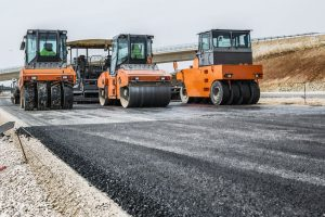 sparts for road-building equipment